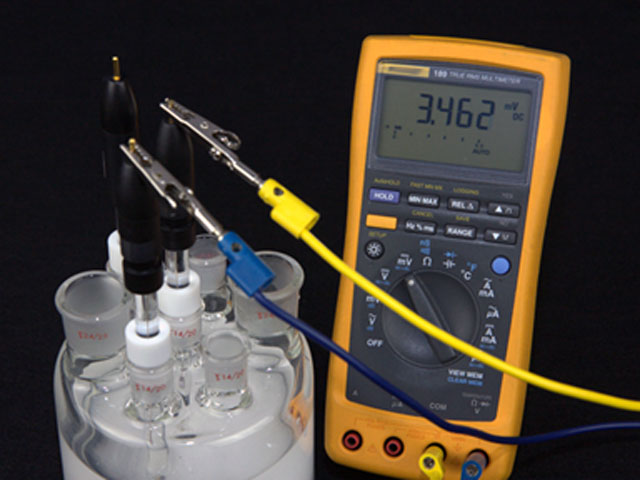 Reference Electrode Test with a Multimeter