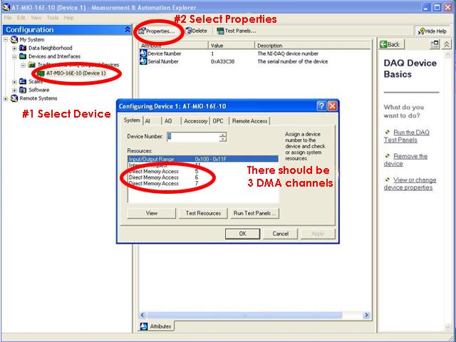 NI MAX troubleshooting AT-MIO-16E-10-DMA-Error-pt4
