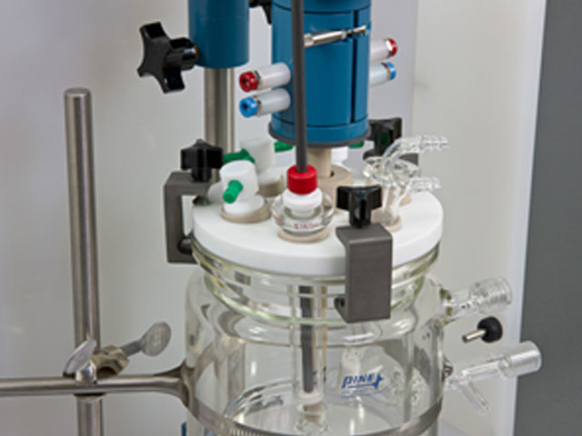 Assembled 15 mm OD Rotating Cylinder Electrode System with MSR Electrode Rotator
