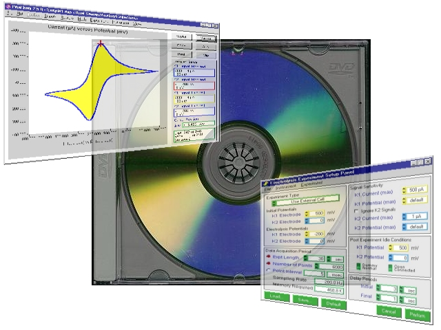 PineChem Electrochemistry Software