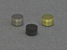 Disk inserts for use with E6 Series RRDE tips (6.0 mm OD x 4.0 mm H)
