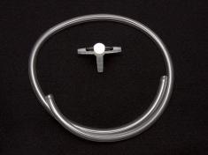 AKPURGE1, three way valve and tubing for gas purging/sparging.