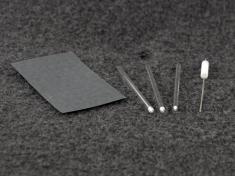 (kit includes electrode, three fritted tubes, O-ring, and sandpaper)