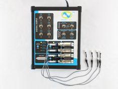 WaveNeuro Four Multichannel FSCV System with four electrodes