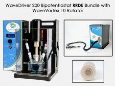WaveDriver 200 RRDE bundle with WaveVortex 10 rotator
