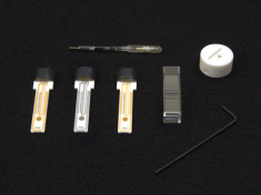 Components of the Spectroelectrochemistry Kit